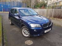 BMW X3 VERY NICE CLEAN CAR ONE OWNER NEW SHAPE STATR STOP FULL HISTORY CHEAP ROAD TAX LEATHETR FULL