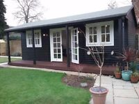 Garden office / home office space avialable for hire