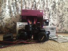Canon EOS 650D TWIN IS LENS KIT + EF 50mm f/1.8 ll LENS + more Llandilo Penrith Area Preview