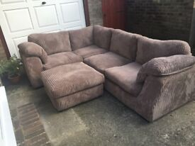 Lovely corner sofa for sale - good condition £250