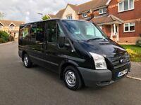 2012 (62) Ford Transit Tourney TREND T280 9 Seater Minibus **12 Months MOT + NO VAT**
