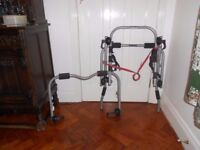 Motor car cycle rack carries three bikes in good condition.hardly ever used.