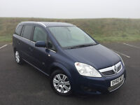GREAT FAMILY 7 SEATER VAUXHALL ZAFIRA 2010 1.7 CDTI WITH FULL SERVICE HISTORY AND NEW MOT!