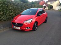 15 reg Corsa Limited Edition Red only 3,000 miles, brand new condition - MINT