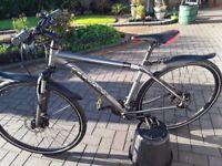 Gents Ridgeback Hybrid cycle