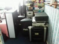 Complete disco equipment