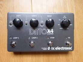 TC Electronic Ditto Looper X4
