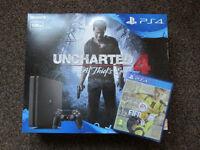 PS4 Slim Uncharted 4 + Fifa 17