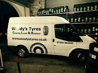 Mobile tyre fitter covering leeds/bradford and surrounding areas.