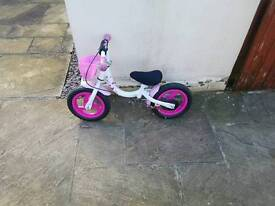 Not used girl bike