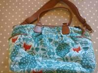 Mamas and Papas Donna Wilson fox print changing bag