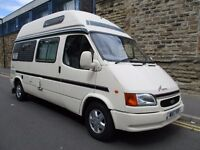 2000 W Reg - Ford Transit Duetto Auto Sleeper 4 berth Camper Van 2.5 Diesel