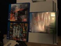 PS4 games &a accessories