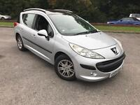 2009 PEUGEOT 207 SW 1.6 VTI AUTOMATIC ESTATE LOW MILES
