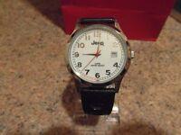JEEP - Wristwatch, Men's/Boys With Original Metal Case Box,