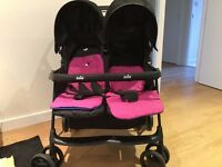 Twins pram, at new condition, almost used for 4 months only .