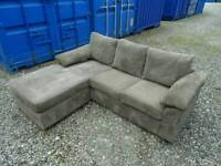 Light brown Corner Sofa *Very Good Clean Condition*