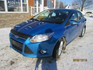 2012 Ford Focus SEL AUTOMATIQUE