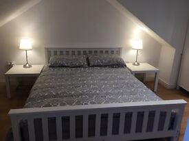 King sized mattress and frame