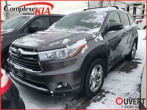 2015 Toyota Highlander Limited AWD 7 PASSAGERS CUIR TOIT PANO GP