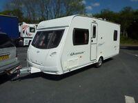 Lunar Quasar Touring Caravan & FREE Starter Pack