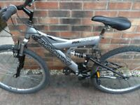 SHOCKWAVE SUS: 500 MENS MOUNTAIN BIKE