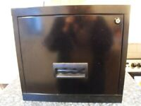 FILING CABINET, METAL, SINGLE DRAWER USEFUL EXCELLENT CONDITION