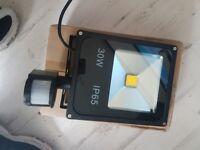 30w p65 sensor light