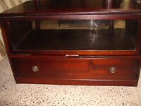 STAG VINTAGE 1970s TV VIDEO CABINET USED