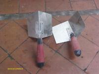 New Stainless Steel corner plastering trowels