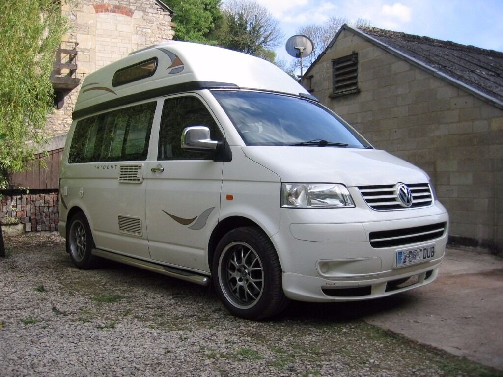 Awesome Vw T5 Transporter Autosleeper Trident 4 Berth