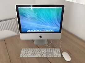 iMac circa 2007 excellent condition. OS X 10.9.5; 2 GHz Intel Core 2 Duo; 2 GB 667 MHz DDR2 SDRAM.