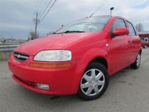 2007 Chevrolet AVEO 5 LS MAN. A/C ** TPS INCLUSE **