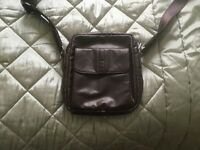 Men's leather bag bought in France Rocamodor, will carry an IPad