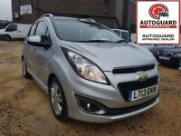 CHEVROLET SPARK 1.2 LTZ - 13 REG 2013 - 3 MONTHS WARRANTY - £30 YEAR ROAD TAX