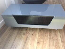 Grey Gloss tv unit/ cabinet