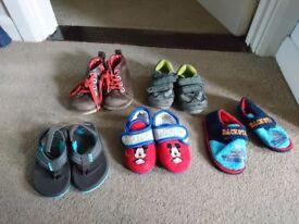 Boys shoes size 4/5 bundle - incl clarks