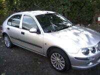 ROVER 25 1-4 IMPRESSION 16v SERIES 3 5-DOOR 2004 (53 PLATE) 1 LADY OWNER FROM NEW, VAST HISTORY.