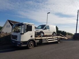 MAN TGL 8.183 NO VAT - twin deck recovery truck