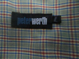 peterwerth shirt large mint con
