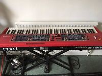 Clavia Nord Stage 88 Revision B (Classic) Digital Piano with flightcase