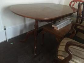 Dining table and 5 chairs, make me an offer