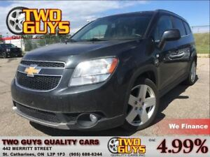 2012 Chevrolet Orlando LTZ LEATHER SUN ROOF BIG MAGS