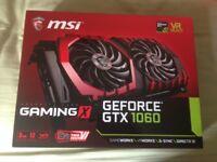 MSI GeForce GTX 1060 GAMING X 3G Graphics Card (LIKE NEW!!)
