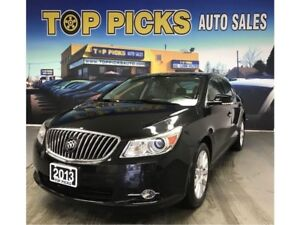 2013 Buick LaCrosse Luxury, Leather, Navi, Accident Free, Certif