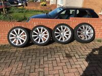 "Genuine Audi 18"" Wheels & Tyres"