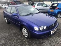 Toyota Corolla Cheap MOT .. not focus Peugeot etc