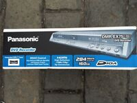 Panasonic dmr-ex75 160gb still in original box as new