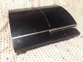 Fat 60gb PS3 with backwards compatibility and 21 games