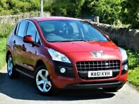 LOVELY! (2011) PEUGEOT 3008 1.6 HDI SPORT DIESEL - ALLOYS - 2 KEYS - 115BHP - 6 SPEED MANUAL - FSH
